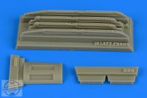 Su17M3/M4 Fitter K fully louded chaff/flare dispensers - 1/48 - Hobbyboss