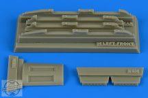 Su17M3/M4 Fitter K fully empty chaff/flare dispensers - 1/48 - Hobbyboss