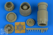MiG-27 early exhaust nozzle - closed - 1/48 - Trumpeter