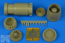 MiG-23BN early exhaust nozzle - opened - 1/48 - Trumpeter