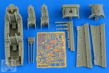 F-15D Eagle cockpit set (late v.) - 1/48 - GWH