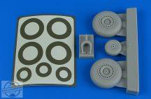 Do 217 wheels & paint masks - 1/48 - ICM