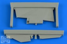 MiG-23MF/MLD correct tail fin - 1/48 - Trumpeter