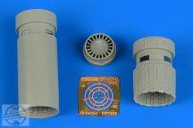 IAI Kfir C2/C7 exhaust nozzles - 1/72 - AMK