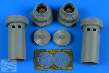 F-14A Tomcat exhaust nozzles - closed position - 1/72 - Academy