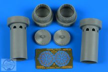 F-14A Tomcat exhaust nozzles - opened position - 1/72 - Academy