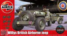 Willys British Airborne Jeep - 1/72