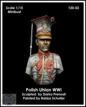 POLISH UHLAN WWI – MINIBUST - 1/15