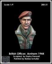 BRITISH AIRBORNE OFFICER, ARNHEM 1944 - 1/9