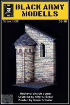 MEDIEVAL CHURCH CORNER - 1/35