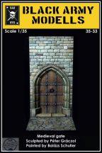 MEDIEVAL GATE  1/35 - 1/32