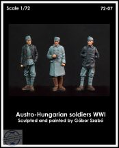 AUSTRO-HUNGARIAN SOLDIERS WWI - 1/72