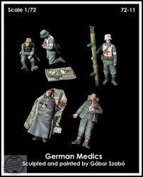 GERMAN MEDICS - 1/72