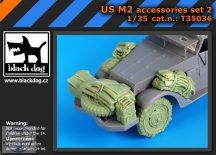 US M2 accessories set No.2 (DRAGON) - 1/35