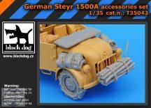 German Steyr 1500A accessories set (TAMIYA) - 1/35