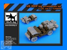 US Jeep big accessories set - Tamiya - 1/35