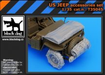 US Jeep accessories set - Tamiya - 1/35