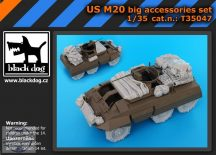 US M 20 big accessories set - Tamiya - 1/35