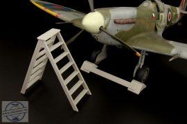 British wheel chock + ladder - 1/32