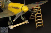 British wheel chock + ladder - 1/48