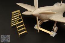 British wheel chock + ladder - 1/72