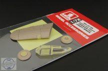 Typhon CAR Doors CANOPY MASKS - 1/72 - Brengun
