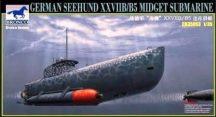 German Seehund XXVIIB/B5 Midget Submarine