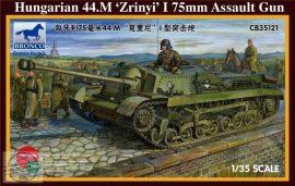 """Hungarian 44.m """"Zrinyi"""" I 75 mm Assault Gun"""