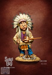Indian Chief - 54 mm