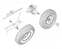 Humber Mk.I Scout Car wheels set SKP/Bronco