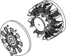 I -16 typ 10 - correction engine set  for Edu kit