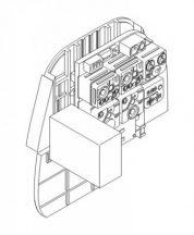 Ju88A-Bulkh.w/radio set for B-stand pos.with 2 MG81 - 1/48 - Dragon/Revell