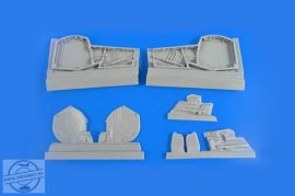 BAC Lightning (for any version) – Main Undercarriage Bays Set 1/48 for Airfix /Eduard kit