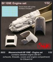 Bf 109E Engine set for Eduard kit