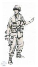 """US Marines Sergeant, """"Hue City"""" Vietnam"""