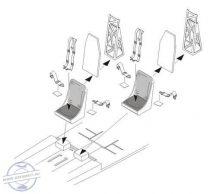 B-17 Flying Fortress – Seats