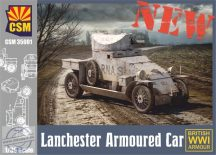 Lanchester Armoured Car - 1/35