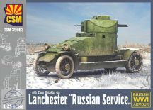 """Lanchester Armoured Car """"Russian Service"""" - 1/35"""
