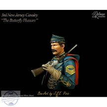 "3rd.NJ Cavalry.""The Butterfly Hussars""Bust 1/16"