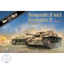 StuG III Ausf.G / StuH 42 2in1 mit Zimmerit - 1/35