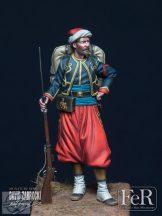 Zouave of the Imperial Guard, Crimea, 1855
