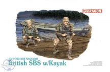 British SBS w/Kayak - 1/35