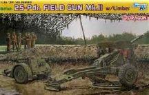 British 25pdr Field Gun Mk.II with Limber