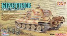 Sd.Kfz.182 Kingtiger Henschel Turret w/Zimmerit  - 1/35