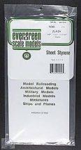 Evergreen sztirol lap szet (2 db) 1 mm