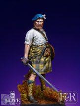Highland Clansman Veteran - 70 mm