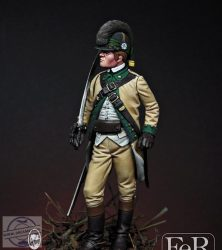 Trooper Partisan  Lee's Legion, 1782 - 75 mm
