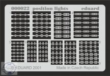 Position lights - poziciós lámpák