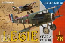 Legie - Spad XIII cs. Pilotu - 1/48 - Limited Edition