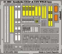 Seatbelts USAF & USN WWII late- 1/32